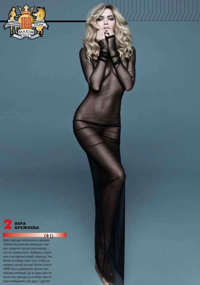 Топ-100 самых красивых девушек России по версии журнала MAXIM