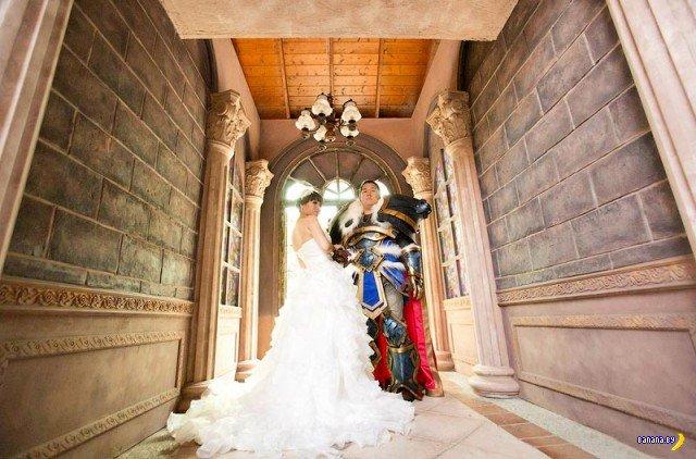 Такие жених и невеста 80 уровня