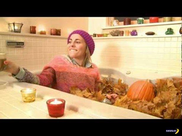 40 больных людей в ванне