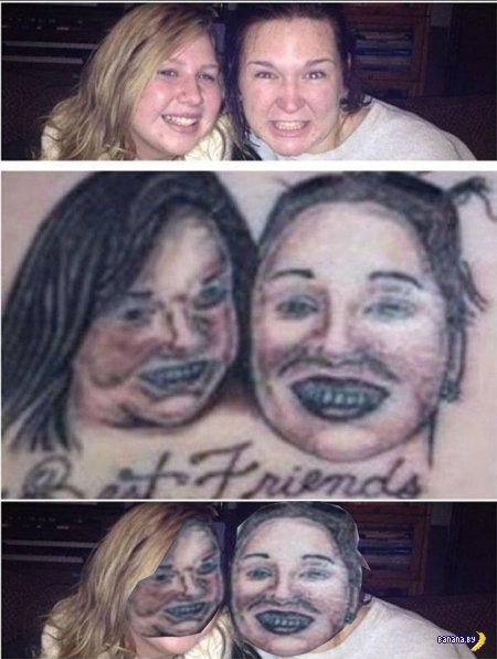 Как выглядят оправдания плохих мастеров татуировки