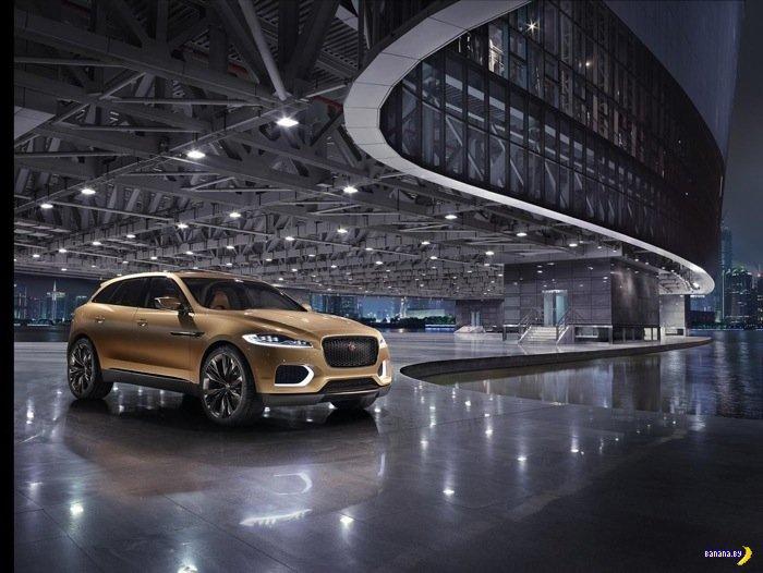 Обновился концепт Jaguar C-X17