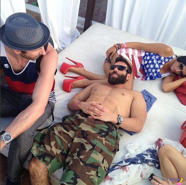 Дэн Билзерян и понты в Инстаграм