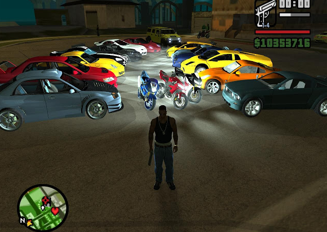 Grand Theft Auto: San Andreas ��� ����� �� ��������� ����������
