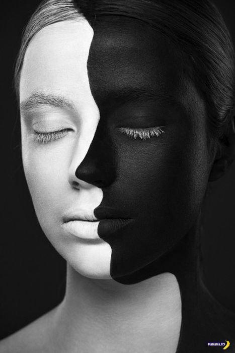 Рисунки на лицах