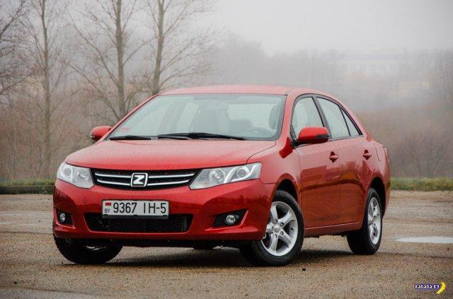 Начались продажи первых автомобилей Zotye белорусской сборки