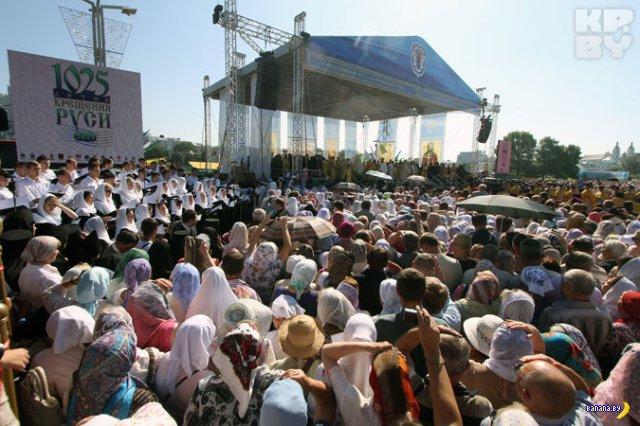 Белорусская православная церковь предлагает сделать выходным День Крещения Руси