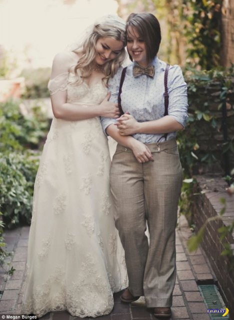 Лесбийская свадьба