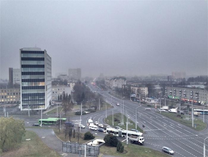 В Беларуси в ближайшие дни обещают дождь, снег и гололедицу
