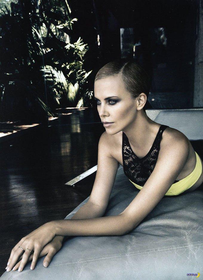 Шарлиз Терон для Dior Magazine