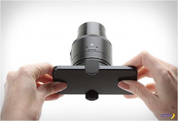 Sony QX100  уже в продаже