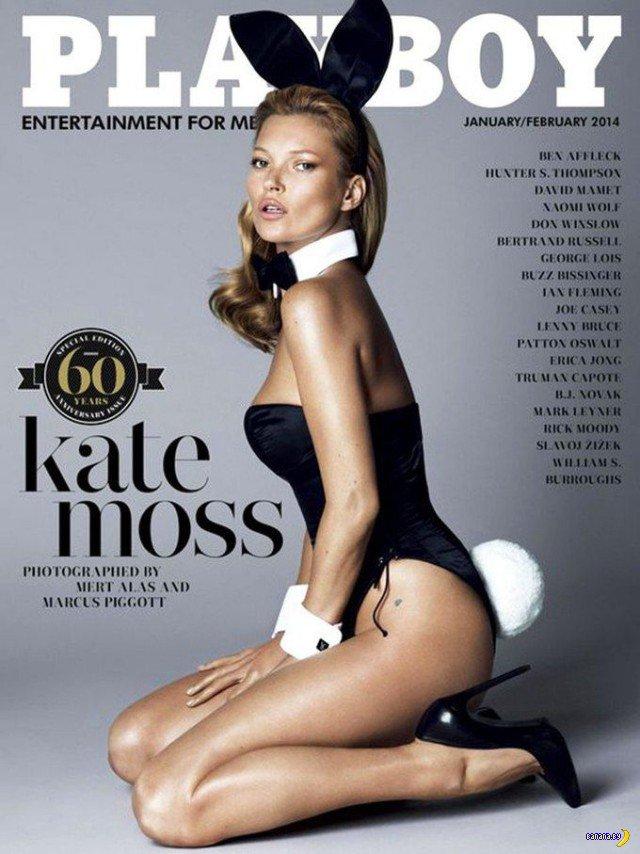 Кейт Мосс оголилась для Playboy