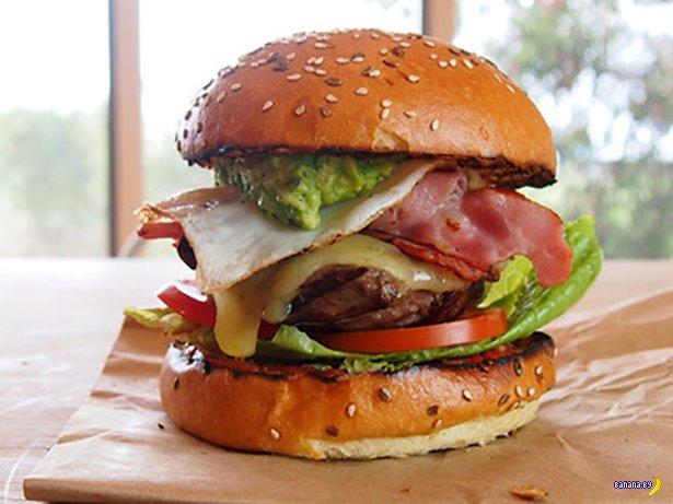 FoodPorn: Только вредная еда!