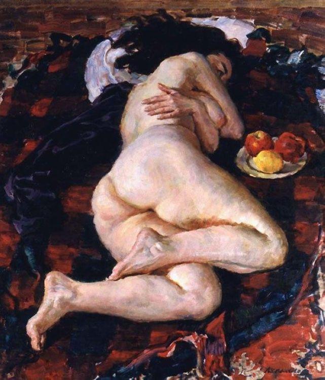 Дебёлые тетки на картинах Виктора Ляпкало