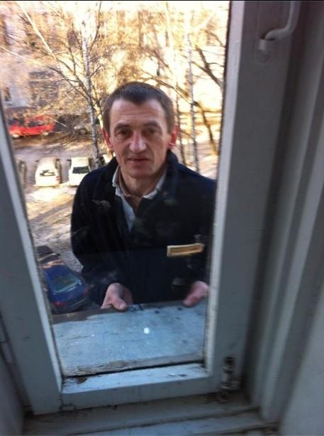 Белорусский ниндзя постучал в окно пятого этажа