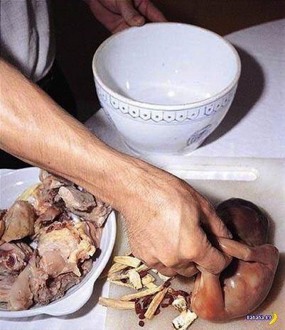 Ужасы китайской кухни- суп из младенцев