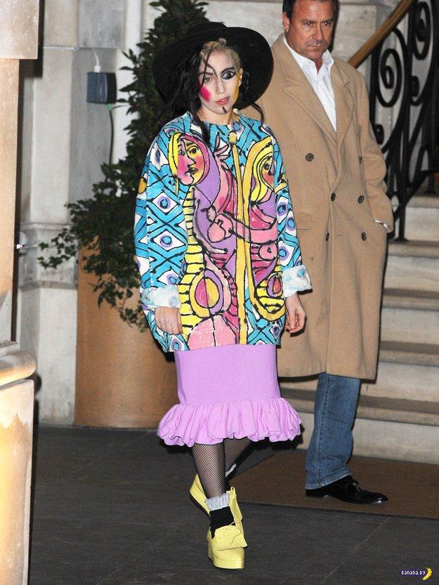 Леди Гага в виде картины Пикассо