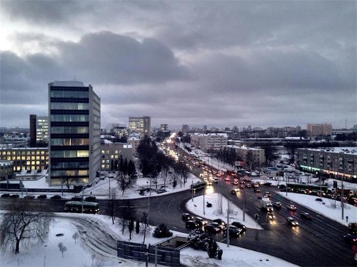 В Беларусь приходят более теплые воздушные массы