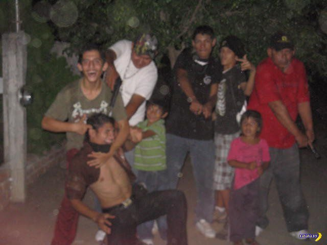Семейные фото из Мексики