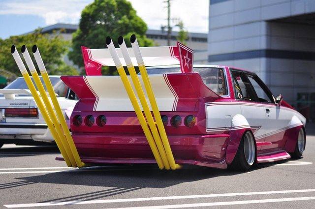 Безумства и классика японского тюнинга