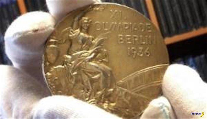 Продали золотую медаль Джесси Оуэнса
