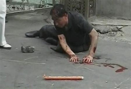В Китае расстреляли толпу