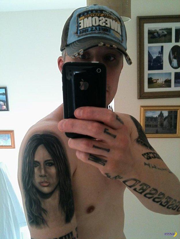 21 татуировка Майли Сайрус