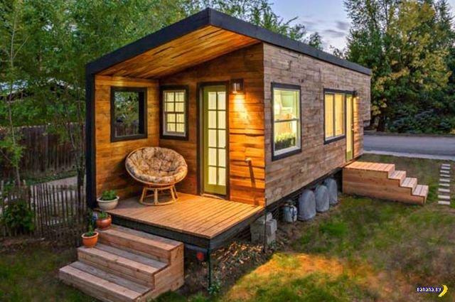 Разведенная архитектор построила себе дом мечты