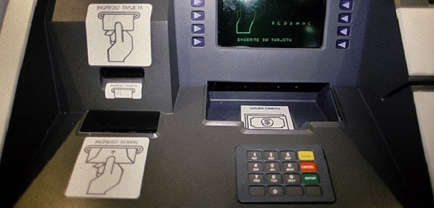 Новый вирус заражает банкоматы