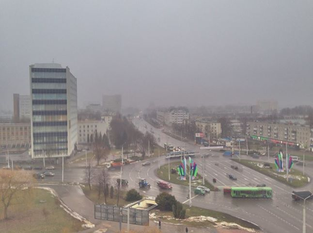 В ближайшие дни синоптики обещают дождь, мокрый снег, туман