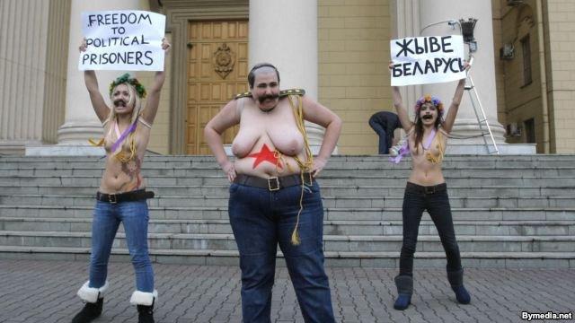 2 года со дня знаменитой акции FEMEN