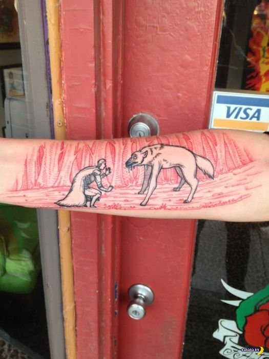 100 лучших татуировок 2013 года