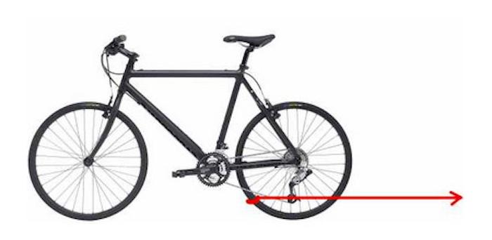 Загадка: куда поедет велосипед?