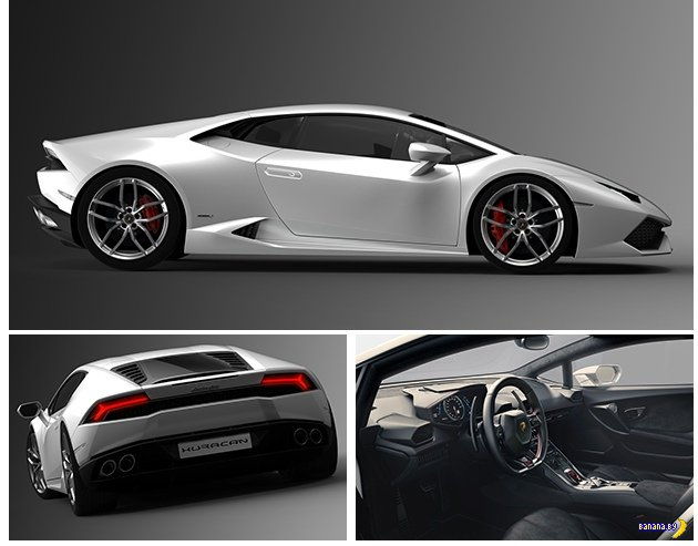 Встречайте Lamborghini Huracán LP 610-4