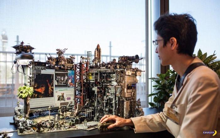 Беспощадный японский моддинг компьютера
