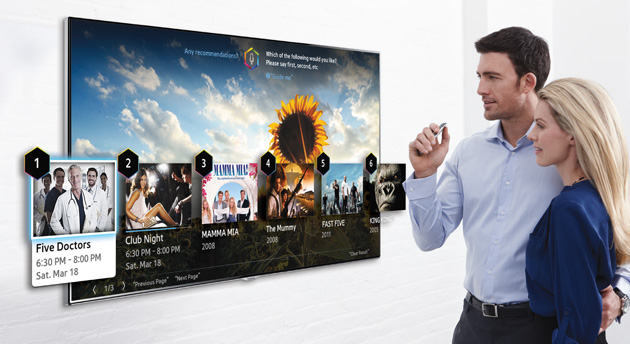 Новая функция в телевизорах Samsung smart TV 2014