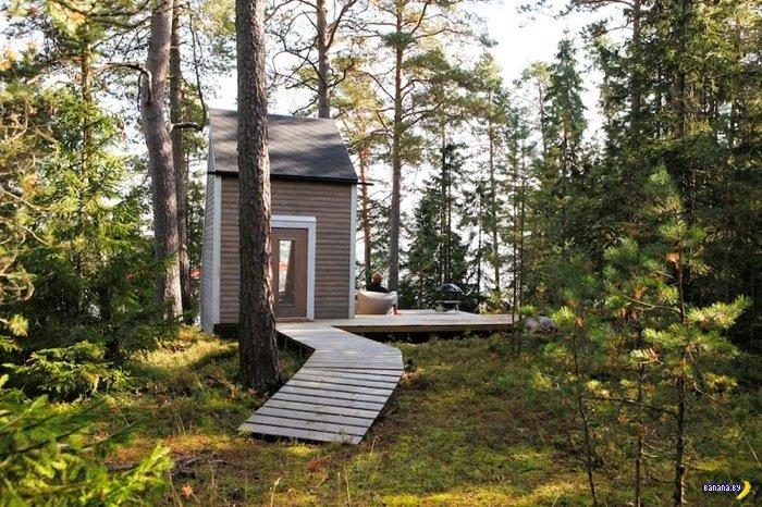Лесной домик для релаксации