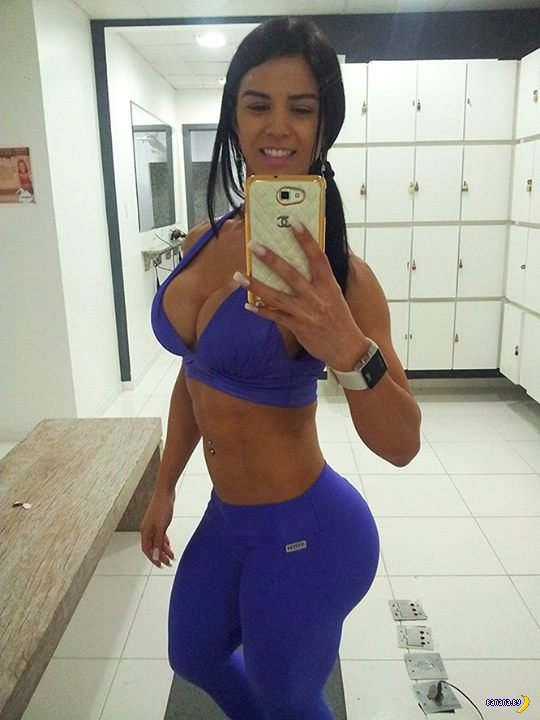 Бразильское тело - Eva Andressa Vieira