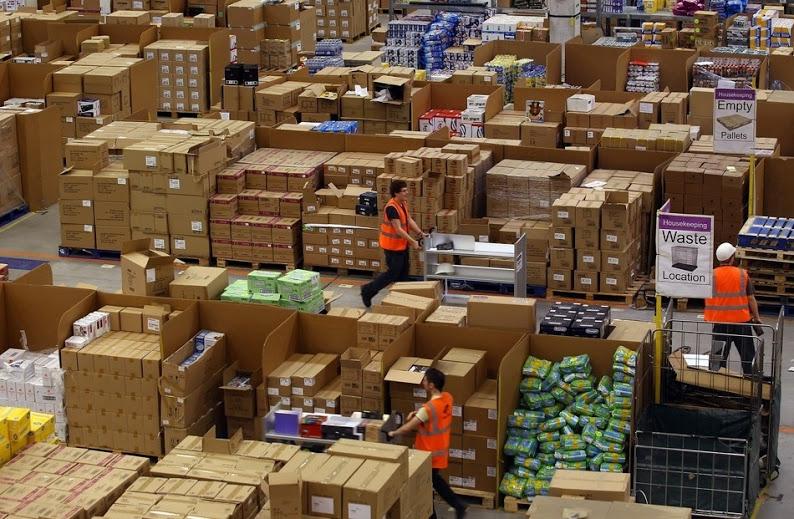 Склады Amazon