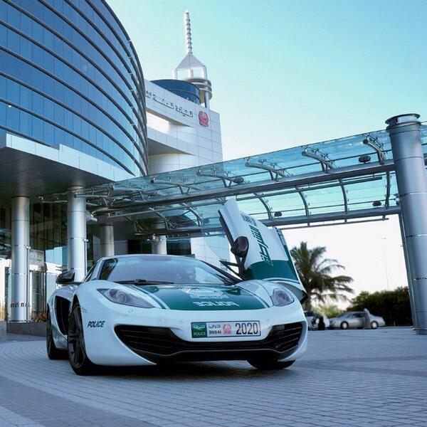 Полиция Дубаи укрепляется