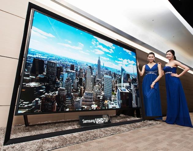 Самый большой телевизор сегодня в продаже