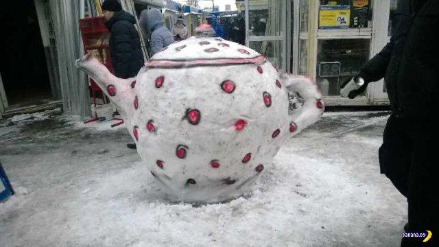 Что делать со снегом, когда его не убирают