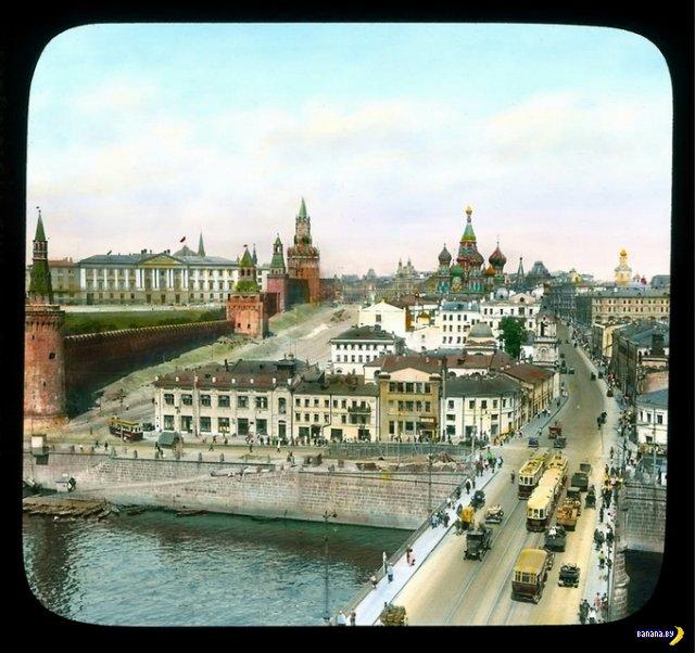 Москва 30-х годов в фотографиях Branson DeCou