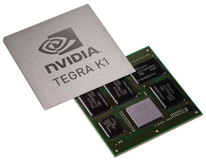 Мобильный процессор Tegra K1 и его 192 ядра