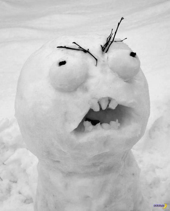Снеговики со всего мира