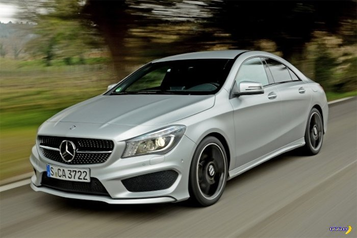 А как вам Mercedes-Benz CLA250?
