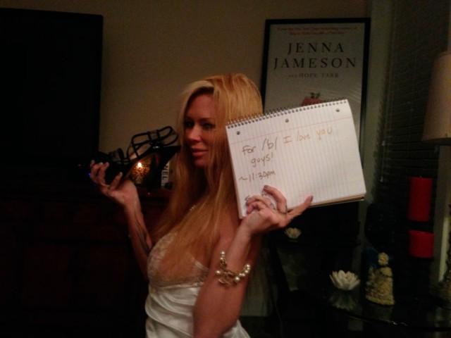 Как помогали Дженне Джеймсон