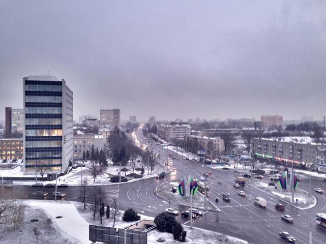 В Беларуси устанавливается зимняя погода