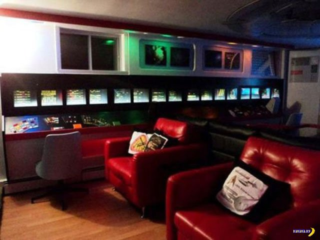 Дом в стиле Star Trek