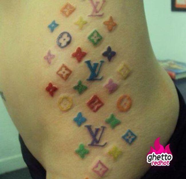 Татуировки из Гетто