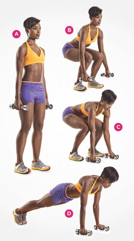 Упражнения для пресса девушкам